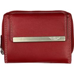 DrachenLeder Geldbörse OPR704X DrachenLeder Damen Portemonnaie (Portemonnaie), Damen, Jugend Portemonnaie Echtleder, rot rot