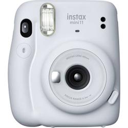 Fujifilm instax Mini 11 Sofortbildkamera Ice, Weiß