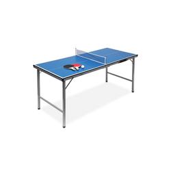 relaxdays Tischtennisplatte Klappbare Tischtennisplatte