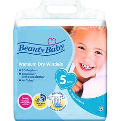 Beauty Baby Windeln Premium Dry Größe Gr.5 (11-16 kg) für Kleinkinder