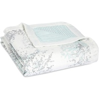 aden + anais aden + anaisTM dream blanket silky soft Decke metallic skylight birch