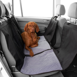 HUNTER Hundedecke Travelstar schwarz-grau, Maße: ca. 145 x 145 cm