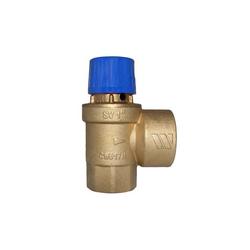 """Sicherheitsventil Warmwasser 1 1/4"""" IG Ansprechdruck 6 bar"""