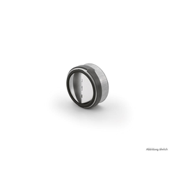 Rückstauklappe rund, Abluftzubehör, Ø 150 mm, L 62 mm