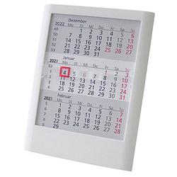 Tischkalender Einsteckkalender 2022/2023 weiß