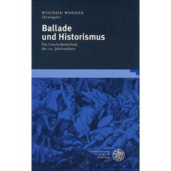 Ballade und Historismus als Buch von