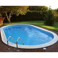 myPOOL Ovalbecken-Set Trend 450 x 250 x 120 cm inkl. Sandfilteranlage