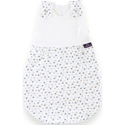 Träumeland Babyschlafsack Außenschlafsack Herz blau (1 tlg) 44