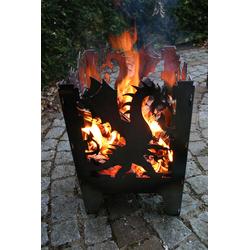 """SvenskaV Feuerkorb """"Drache"""",,L"""