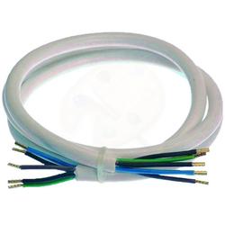Technikgrosshandel Herdanschlussleitung PHL 32515 1,5m H05VV-F 3G2,5 Elektroherd-Zuleitung, (150 cm)
