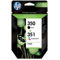 HP 350 schwarz + 351 CMY (SD412EE)