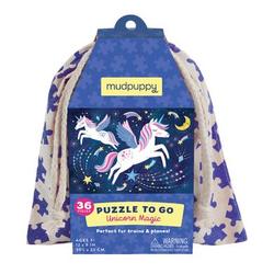mudpuppy Puzzle To Go - Einhorn Magie