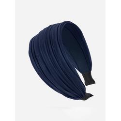 axy Haarreif Breiter Haarreif Wunderschön, Damen Breiter Haarreif Haarband Haarreifen blau