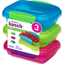 Sistema Lunchbox 200 ml, 3er-Set