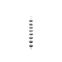HTI-Line Schuhregal Teleskop-Schuhkarussell Sizilia