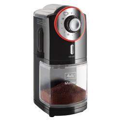 Melitta Kaffeemühle Molino elektrische Kaffeemühle schwarz/rot