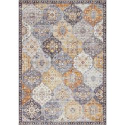 Teppich Kashmir Ghom, ELLE Decor, rechteckig, Höhe 5 mm, Orient Design gelb 200 cm x 290 cm x 5 mm