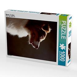 Bones, 3 Jahre Lege-Größe 48 x 64 cm Foto-Puzzle Bild von Jana Behr Puzzle