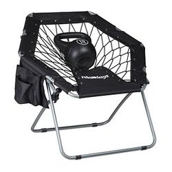 relaxdays Bungee-Stuhl schwarz