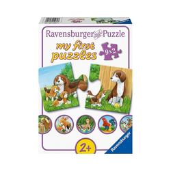 Ravensburger Puzzle my first puzzles - Tierfamilien auf dem, Puzzleteile