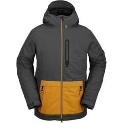 Volcom - Deadlystones Ins Jacket Dark Grey - Skijacken - Größe: L