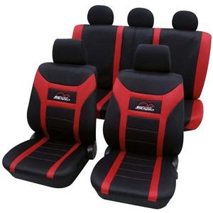 Sitzbezüge Universal Polyester rot von PETEX, rot
