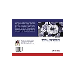 Teacher's Commitment and Duties Towards their Work