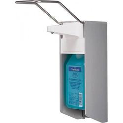 Metallspender, Dosierspender, Seifenspender, Wandspender, Desinfektion für 500ml