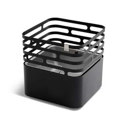 Höfats Cube Feuerkorb schwarz