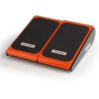 Vitalmaxx Vibrationsgerät Training & Massage schwarz/orange