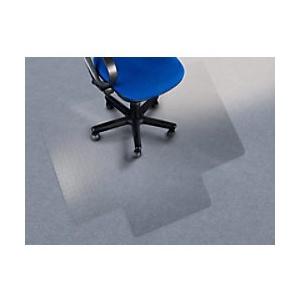 Bodenschutzmatte mit Lippe office marshal Teppich Transparent Polycarbonat 900 x 1200 mm