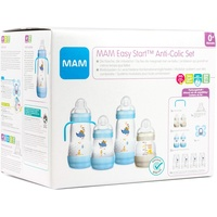 MAM Starterset Easy Start Anti-Colic Set, 0+ blau