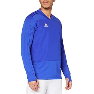 adidas Herren CON18 TR Sweatshirt, Bold Blue/White, M