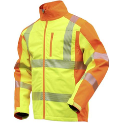 L+D ELDEE 4770-L Softshelljacke YO-HiViz Größe: L Gelb, Orange