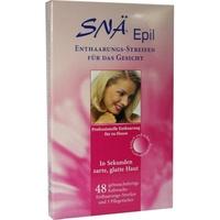Snä-Epil Enthaarungs-Streifen Gesicht 48 St.