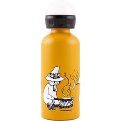 Alu-Trinkflasche SIGG X Moomin Camping, 400 ml gelb-kombi