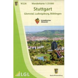 Stuttgart 1:25 000