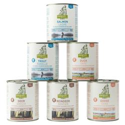 isegrim® Dosen-Menü-Mix, Anzahl: 60 x 800 g, 800 g, Hundefutter nass
