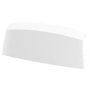 10er Pack Wasserschlitzkappen Fensterentwässerung 45mm in verschiedenen Farben by MS Beschläge® (Weiß - RAL 9016)