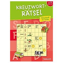 Kreuzworträtsel (rot) - Buch
