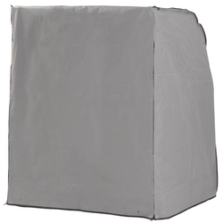 Sonnen Partner Strandkorb-Schutzhülle, für Strandkörbe, BxLxH: 155x115x160 cm, weiß weiß