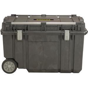 Stanley Werkzeugbox (99 x 59 x 62 cm, Box für Montage mit 233l Fassungsvermögen, Metallverstrebungen zum Befestigen einer zweiten Box, robuste Metallschließen) FMST1-75531