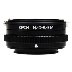 KIPON Adapter für Nikon G Objektiv auf Sony E Kamera (mit Makro)