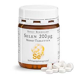 Selen 200 µg Mono-Tabletten vegan