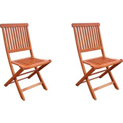 2x Hochlehner Gartenstuhl Gartenstühle Klappstuhl Klappstühle Holz Eukalyptus