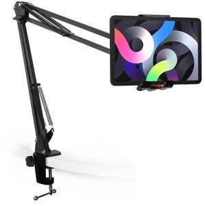 LinQ HD3284 Tablet/Smartphone Ständer mit verstellbarer Armklemme – Schwarz