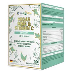 VEGAN MSM & VITAMIN C CAPSULES