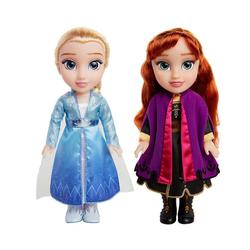 Jakks Pacific Stehpuppe Die Eiskönigin 2 - Anna & Elsa Funktionspuppen