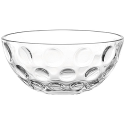 LEONARDO Schale Cucina Optic, Glas, (Set, 6-tlg), spülmaschinengeeignet