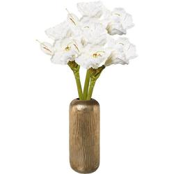 Kunstblume Amaryllis, Höhe 38, 66 cm, mit Vase